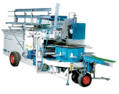 Demtec 3016 Potting Machine
