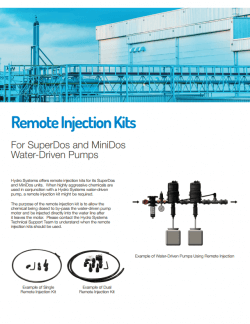 Remote Injection Kits